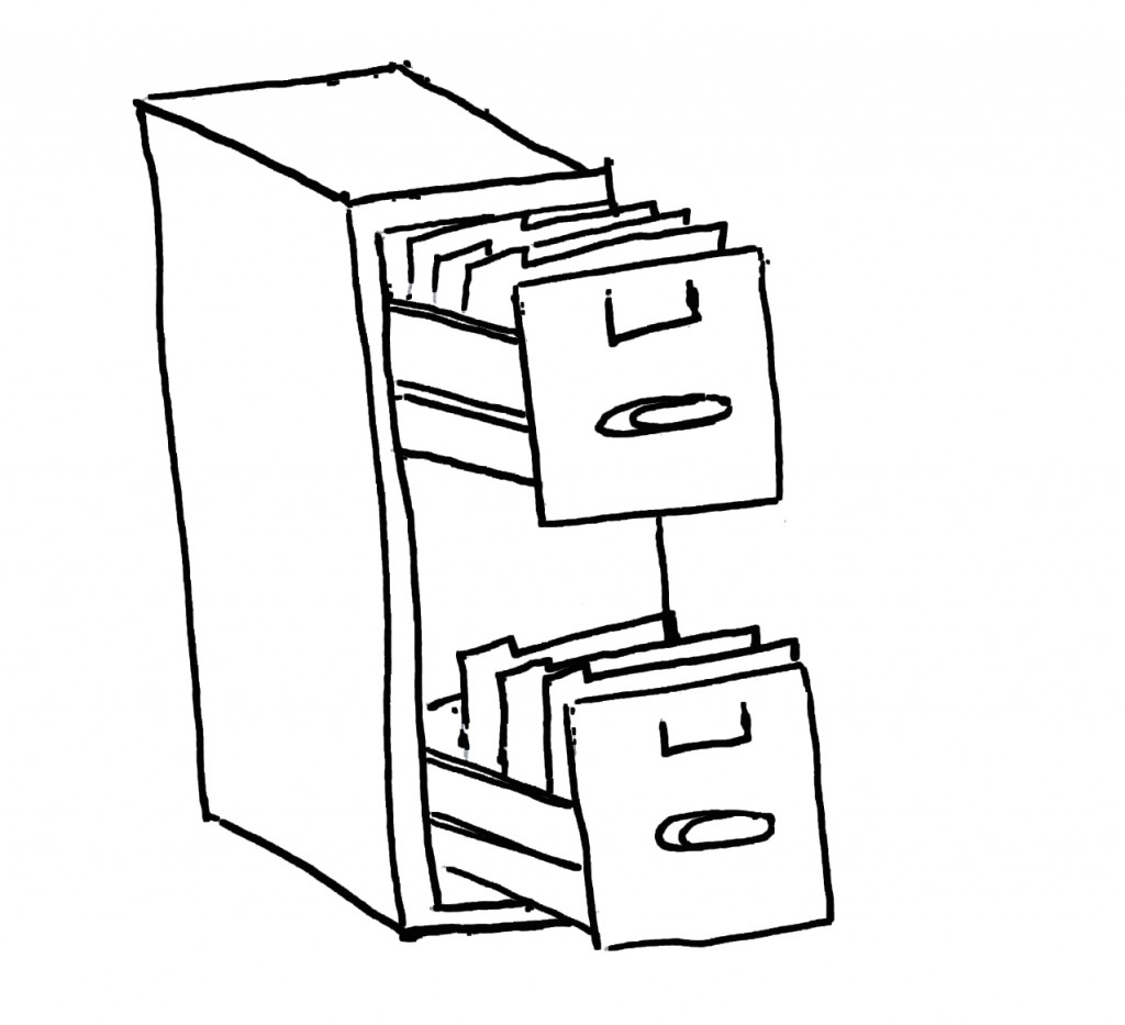 1 Filing Cabinet